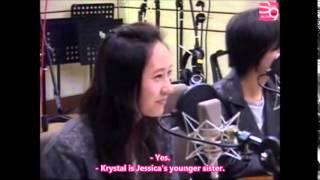"Taeyeon calls Krystal ""Soojung"""
