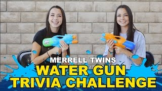 Water Gun Trivia Challenge - Merrell Twins