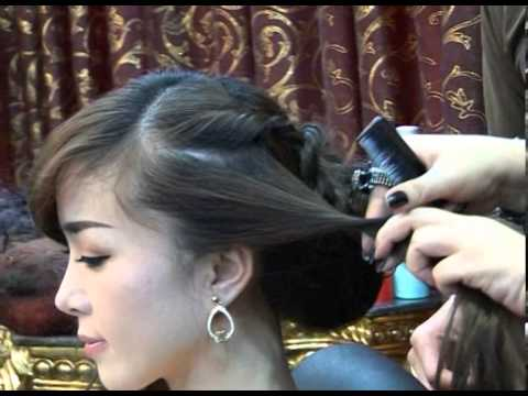Salon tóc Hằng Hoàng hướng dẫn mẫu tóc khi đi dạ tiệc