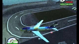 GTA San Andreas Singapore Airlines Flight  006 Crash