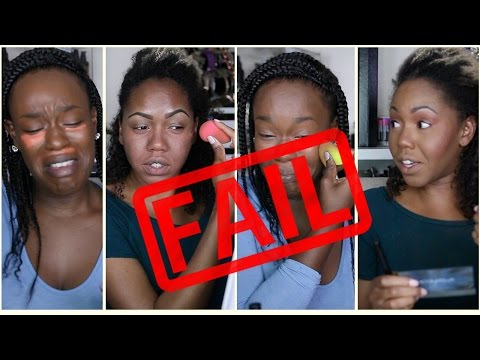 5 Minute  Makeup Challenge w/ MakeupByKrishna