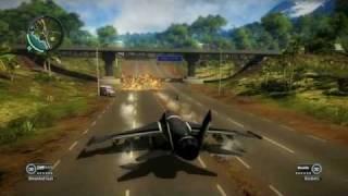 getlinkyoutube.com-Just Cause 2 Air Propulsion Gun Fun Glitch