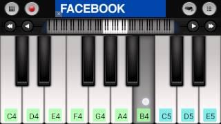 getlinkyoutube.com-تعلم بطريقة سهلة جدا عزف نغمة وادي الذئاب