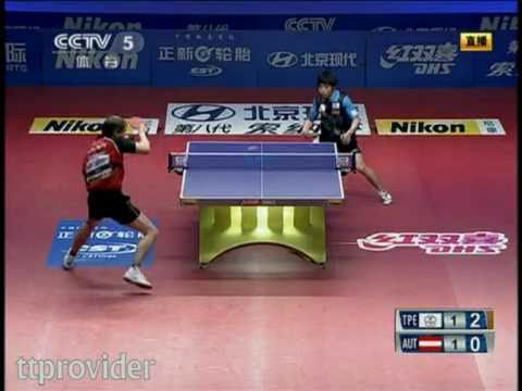 Asia vs. Europe 2011: Chuang Chih Yuan-Werner Schlager