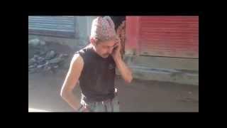 नेपाली funny गल्कोटे YCL best कमेडी,,फोन प्रचण्ड लाई ..