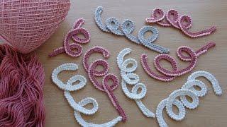 getlinkyoutube.com-УРОКИ ВЯЗАНИЯ. Завиток вязаный крючком.Мотив для ирландского кружева.Lesson crochet.