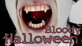 getlinkyoutube.com-Halloween Vampir Outfit + Makeup