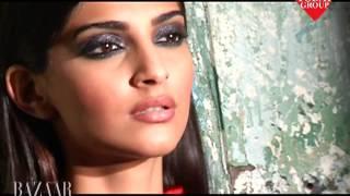 getlinkyoutube.com-Shoot Video - Sonam Kapoor for Harper's Bazaar (India) - Sept. 2013
