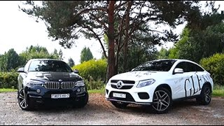 Mercedes-Benz GLE Coupe против BMW X6. И ГАЗ-69