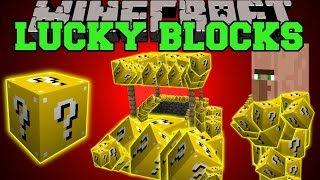 getlinkyoutube.com-Minecraft: LUCKY BLOCKS (LUCKY VILLAGERS, WISHING WELLS, LUCKY POTIONS, & MORE!) Mod Showcase