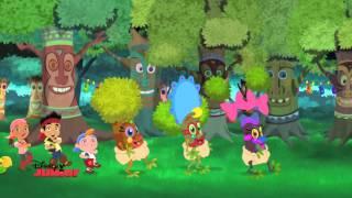 getlinkyoutube.com-Jake And The Never Land Pirates | Tiki Tree Lu'au | Disney Junior UK