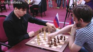 getlinkyoutube.com-Andreikin-Grischuk, World Blitz Championship 2012