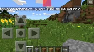 getlinkyoutube.com-Como hacer un castillo rapido en minecraft pe
