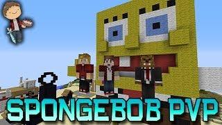 getlinkyoutube.com-Minecraft: SpongeBob! Bikini Bottom PVP Mini-Game w/Mitch & Friends!