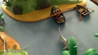 getlinkyoutube.com-Νησιά Playmobil  3799 kai 5134