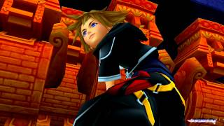 Kingdom Hearts HD 2.5 ReMIX English - KH2FM - Part 14 - Agrabah 1V - Boss: Elemental Lords