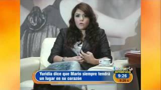 Yuridia con amor para Mario Domm
