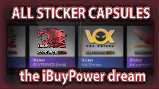 getlinkyoutube.com-ALL STICKER CAPSULES: THE iBuyPower HOLO DREAM