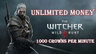 getlinkyoutube.com-The Witcher 3 Wild Hunt - Unlimited Money Exploit (1000 Crowns in 1 Minute)