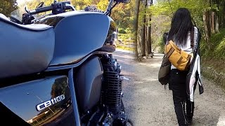 getlinkyoutube.com-女性の敵は寒さ CB1100 バイク ツーリング 防寒について
