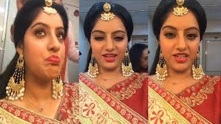 Deepika Singh Talking With Fans on Fb live