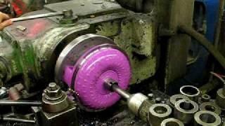 getlinkyoutube.com-ATI Racing Torque Converter Cut Open Lathe
