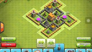 getlinkyoutube.com-CLASH OF CLANS TH5 HYBRID/CLAN WAR BASE | ANTI GIANT |