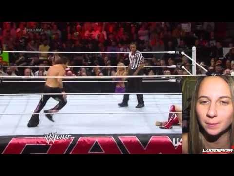 WWE Raw 12/9/13 Daniel Bryan vs Fandango Live Commentary