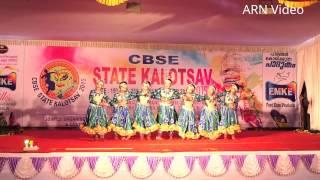 getlinkyoutube.com-Kerala State CBSE School Kalolsavam  : Group Dance