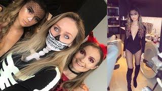 WHAT HALLOWEEN COSTUMES WE WORE! - Seeing Dua Lipa & Talia did our makeup!