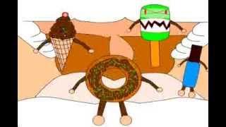 getlinkyoutube.com-Kalahkan Monster Makanan Dengan Gosok Gigi