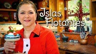 getlinkyoutube.com-Islas Flotantes (Postre sin Horno) - Cocina Festiva: Sonia Ortiz