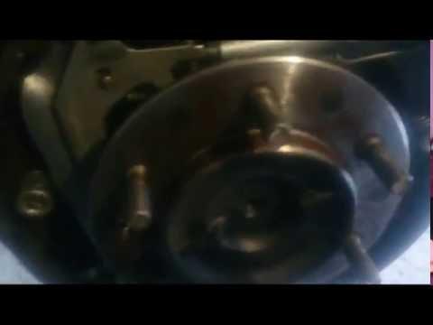 Замена резиновых прокладок в барабанных тормозах на Toyota surf 185 кузов