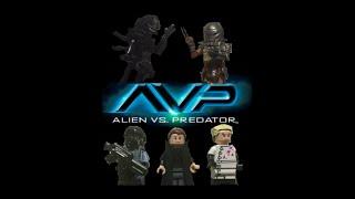 getlinkyoutube.com-LEGO AVP (Alien Vs Predator) Episode 1: The Research Lab