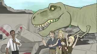 getlinkyoutube.com-How Jurassic Park Should Have Ended.