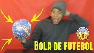 COMO FAZER BOLA DE FUTEBOL EM CASA