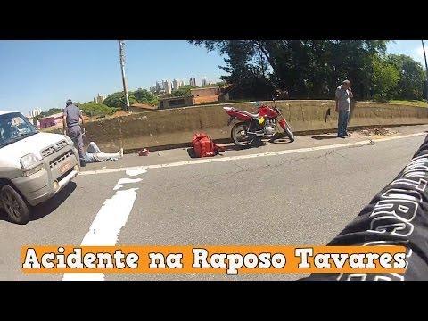 Escape na Cidade - Acidente na Raposo Tavares Sem Gravidade - H-D Dyna Super Glide Custom