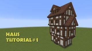 getlinkyoutube.com-Minecraft Tutorial - Fachwerkhaus (Wohnhaus) - build a Half- timbered house