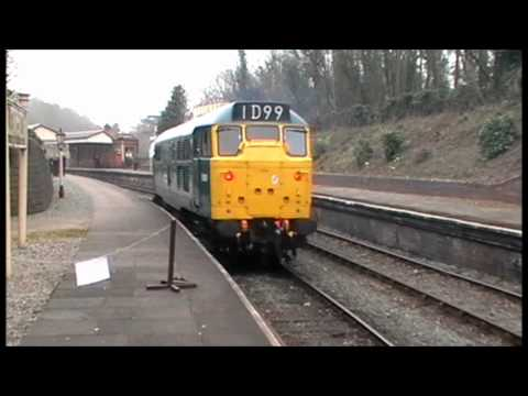 Diesel Day @ Llangollen Railway, March 2011 - HD