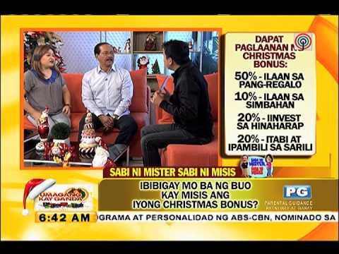 Bro. Bo Sanchez guests on Umagang Kay Ganda - 14 Nov 2014