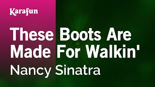 getlinkyoutube.com-Karaoke These Boots Are Made For Walkin' - Nancy Sinatra *