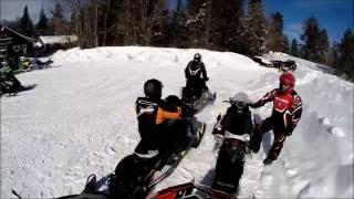 getlinkyoutube.com-Snowmobiling in Old Forge NY 2014