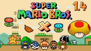 SUPER MARIO BROS. X (SMBX 1.4) | ALL POWER-UPS