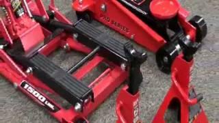 getlinkyoutube.com-Powerbuilt Triple Lift Floor Jack Video - Pep Boys