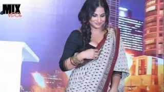 Vidya Balan Sexy Blouse Drape