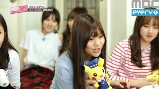 getlinkyoutube.com-(Showtime MAMAMOOXGFRIEND EP.1) Umji turned into a Pikachu
