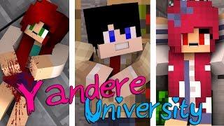 getlinkyoutube.com-Murder, Betrayal & Mystery | Yandere University [S1: Movie Minecraft Roleplay Adventure]