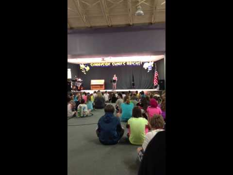 Lucie Sax Solo 5th Grade Talent Show
