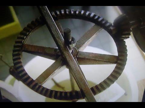 Maqueta maquinaria Museo del Aceite Arellano Navarra