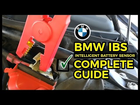 BMW NO START NO CRANK Intelligent Battery Sensor BMW IBS FIX- HAPPY ENDING SOLUTION